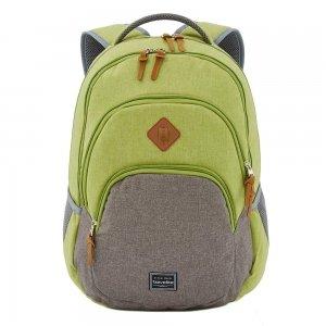 Travelite Basics Backpack Melange green/grey backpack