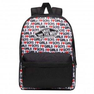 Vans Realm Backpack i heart boys girls backpack
