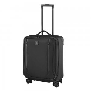 Victorinox Lexicon 2.0 Dual-Caster Wide-Body Carry-On black Zachte koffer