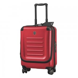 Victorinox Spectra 2.0 Dual-Access Global Carry-On 55 red Harde Koffer