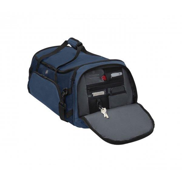 Victorinox VX Sport Evo 2-in-1 Backpack/Duffel deep lake/blue Weekendtas van Polyester