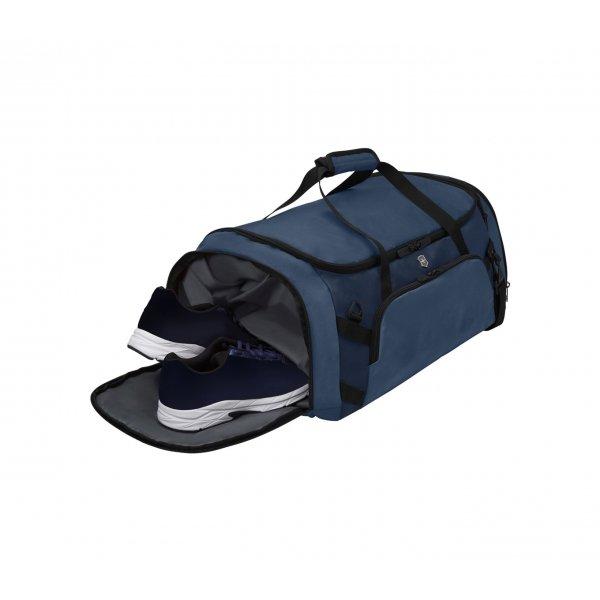 Victorinox VX Sport Evo 2-in-1 Backpack/Duffel deep lake/blue Weekendtas