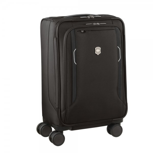 Victorinox Werks Traveler 6.0 Softside Frequent Flyer Carry-On black Zachte koffer van Nylon