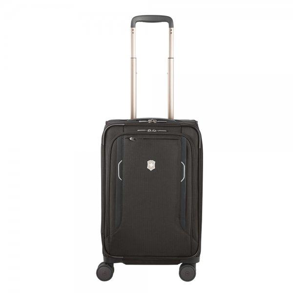 Victorinox Werks Traveler 6.0 Softside Frequent Flyer Carry-On black Zachte koffer