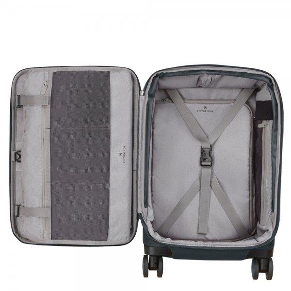 Victorinox Werks Traveler 6.0 Softside Frequent Flyer Carry-On grey Zachte koffer