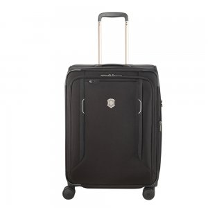 Victorinox Werks Traveler 6.0 Softside Medium Case black Zachte koffer