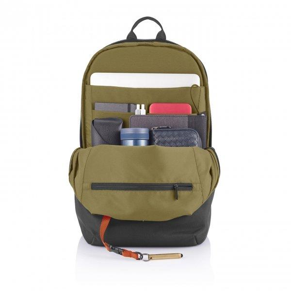 XD Design Bobby Soft Anti-Diefstal Rugzak black backpack van Polyester