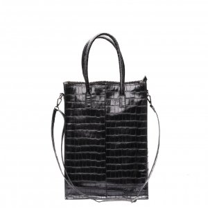 Zebra Trends Natural Bag Rosa XL Croco black Damestas