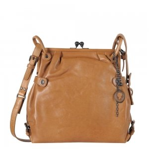 Aunts & Uncles Grandma's Luxury Club Mrs. TeaCake Crossover Bag caramel Damestas
