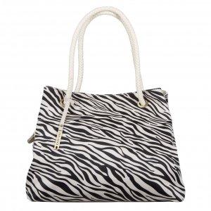 Bulaggi Zebra Shopper creme Damestas
