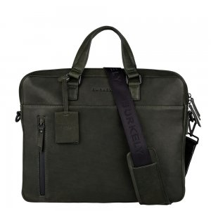 "Burkely Rain Riley Laptopbag 15.6"" dark green"