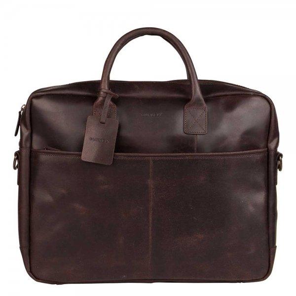 """Burkely Vintage Max Worker 17.3"""" brown"""
