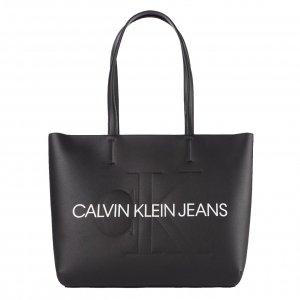 Calvin Klein Jeans Shopper black Damestas