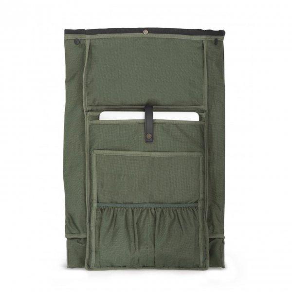 Dusq Family Bag Leather night black backpack van Leer