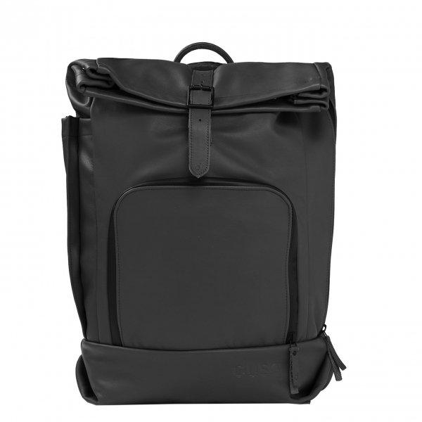 Dusq Family Bag Leather night black backpack