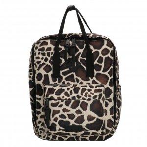 Enrico Benetti Londen Rugtas 14'' giraf print backpack