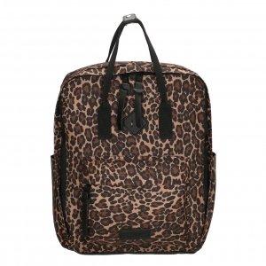 Enrico Benetti Londen Rugtas 14'' panter print backpack