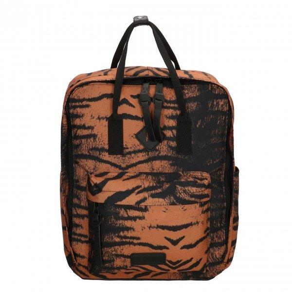 Enrico Benetti Londen Rugtas 14'' tijger print backpack