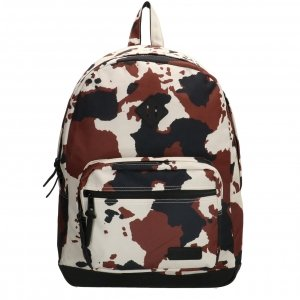 "Enrico Benetti Londen Rugzak 15"" cow print backpack"