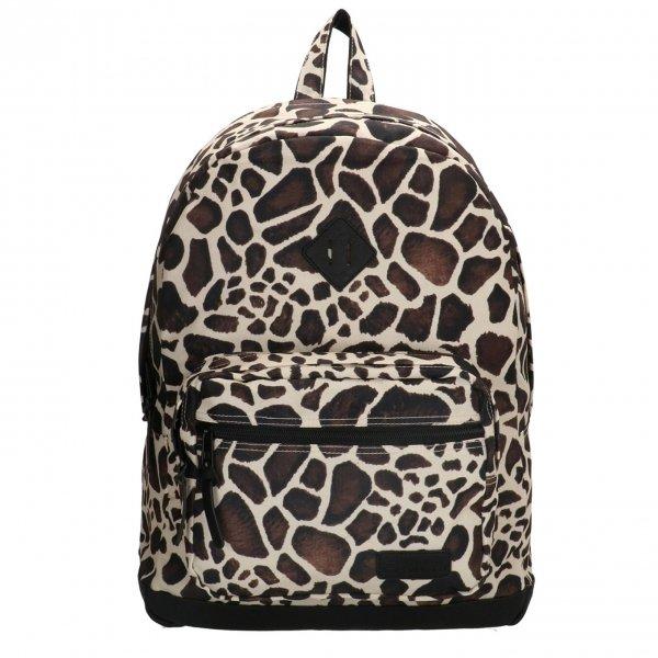 "Enrico Benetti Londen Rugzak 15"" giraf print backpack"