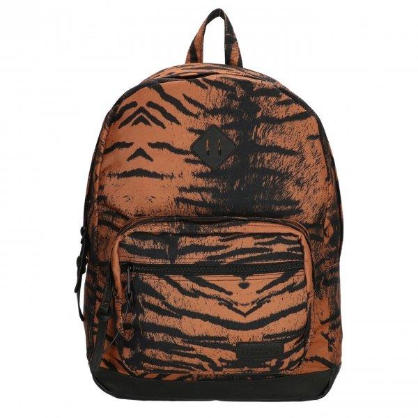 "Enrico Benetti Londen Rugzak 15"" tijger print backpack"