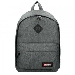 "Enrico Benetti Montevideo Laptop Rugzak 15"" dark grey backpack"