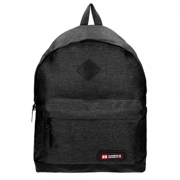 Enrico Benetti Montevideo iPad Rugzak black backpack
