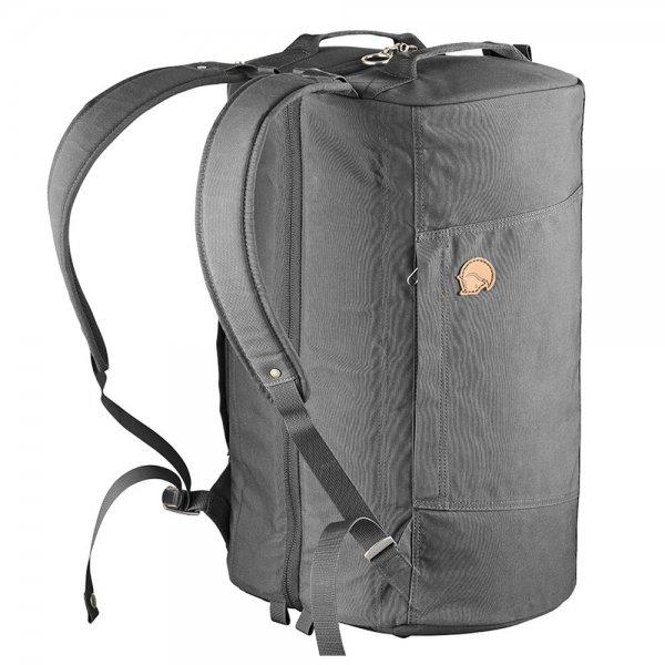 Fjallraven Splitpack Backpack / Duffel super grey Weekendtas