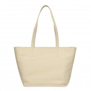 Fred de la Bretoniere Handbag Grain Leather off white Damestas