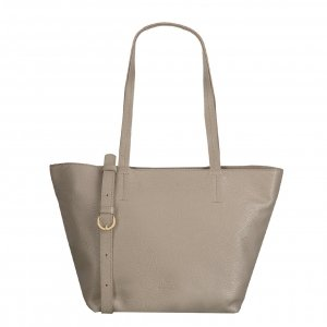 Fred de la Bretoniere Handbag Grain Leather taupe Damestas