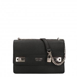 Guess Katey Convertible Xbody Flap black Damestas