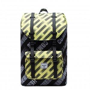 Herschel Supply Co. Little America Mid-Volume Rugzakhsc motion black/highlight backpack