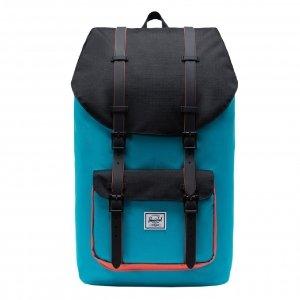 Herschel Supply Co. Little America Rugzak blue bird/black/emberglow backpack