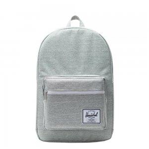 Herschel Supply Co. Pop Quiz Rugzak light grey crosshatch backpack