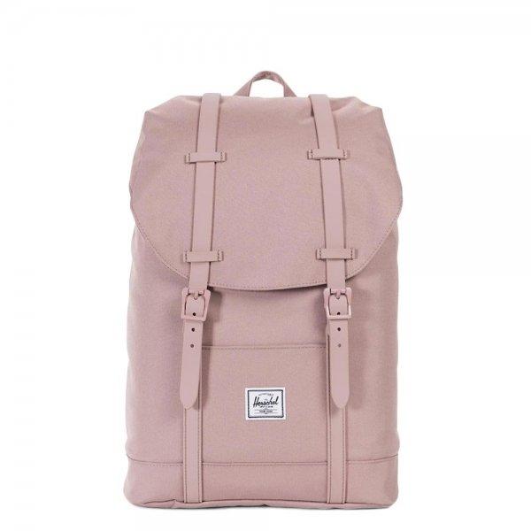 Herschel Supply Co. Retreat Mid-Volume Rugzak ash rose/ash rose rubber backpack