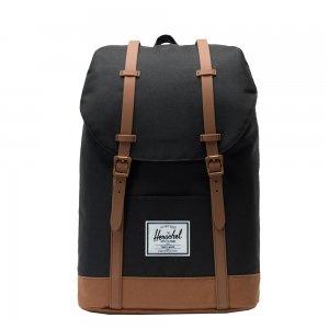 Herschel Supply Co. Retreat Rugzak black/saddle brown backpack