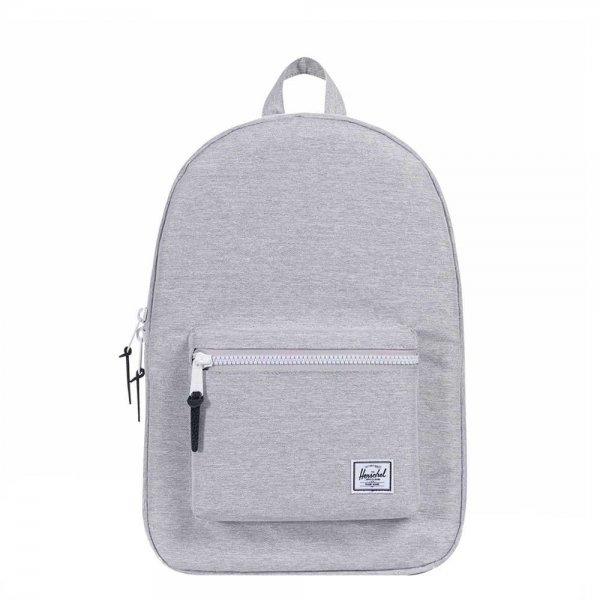 Herschel Supply Co. Settlement Rugzak light grey crosshatch backpack