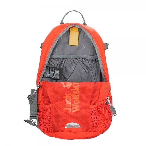 Jack Wolfskin Velocity 12 Rugzak ebony backpack van Polyester
