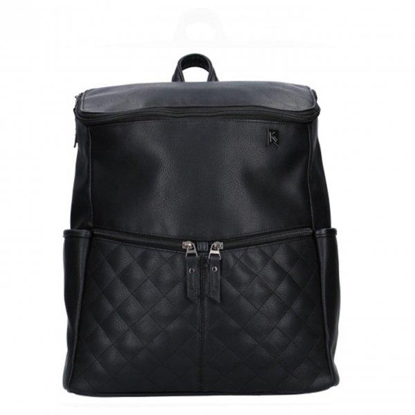 Kidzroom Go Out Diaper Backpack black Damestas