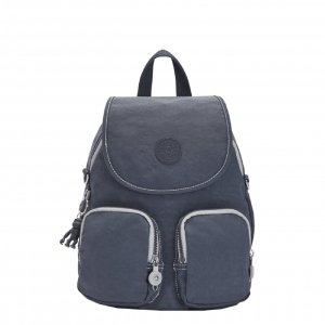 Kipling Firefly Up Rugzak grey slate Damestas
