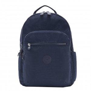 Kipling Seoul Rugzak blue bleu 2 backpack