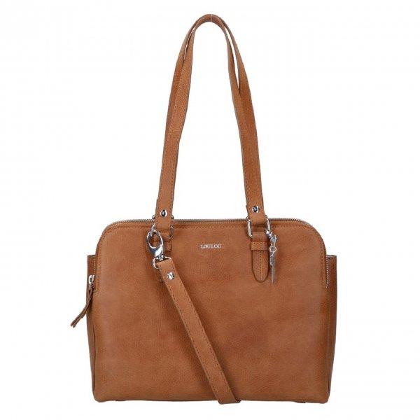 LouLou Essentials Bag Robuste cognac Damestas