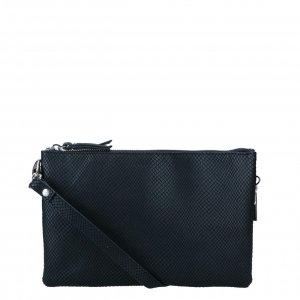 LouLou Essentials Clutch Medium Queen black Damestas