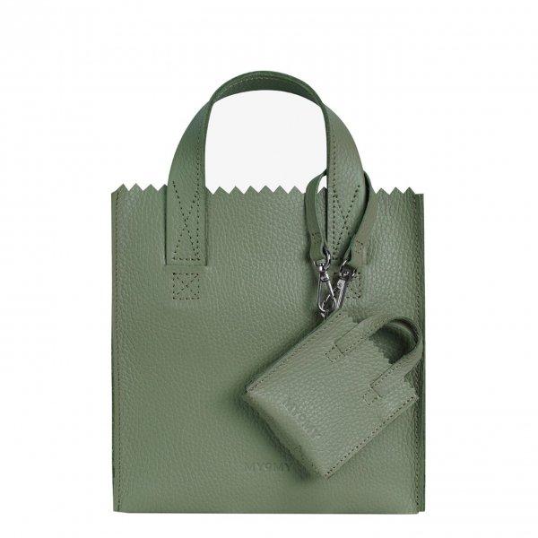 MyoMy My Paper Bag Square Mini rambler green Damestas