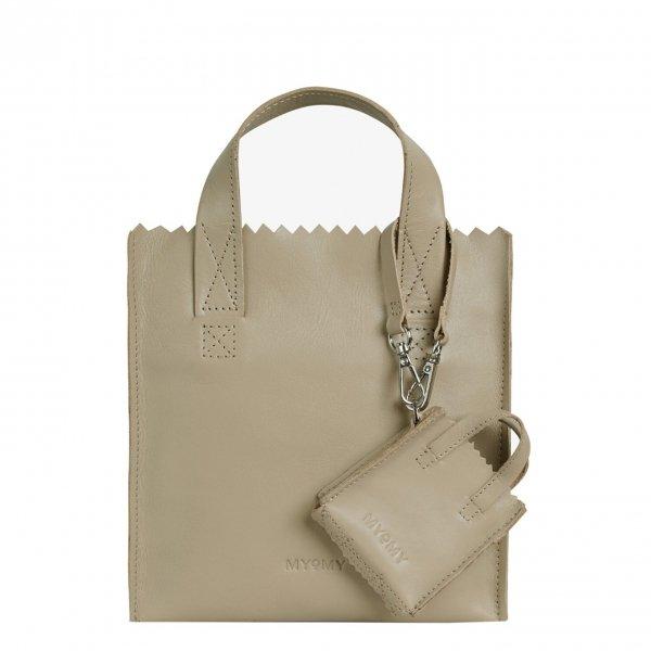 MyoMy My Paper Bag Square Mini sand Damestas
