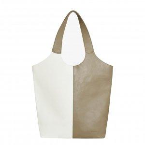 MyoMy My Sarah Bag Shopper mix rambler off white & sand Damestas