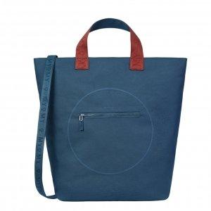 Myomy My Circle Bag Shopper blue Damestas