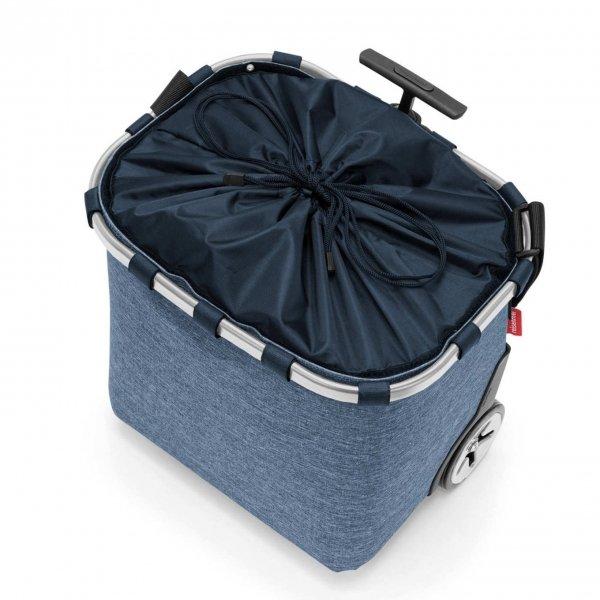 Reisenthel Shopping Carrycruiser twist blue Trolley van Polyester
