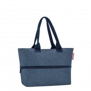 Reisenthel Shopping Shopper e1 twist blue Damestas