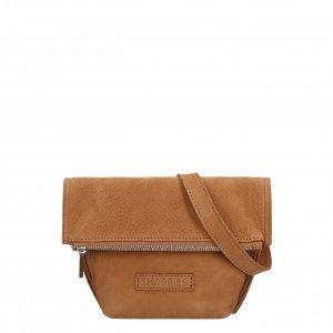 Shabbies Amsterdam Crossbody S Nubuck Leather brown Damestas